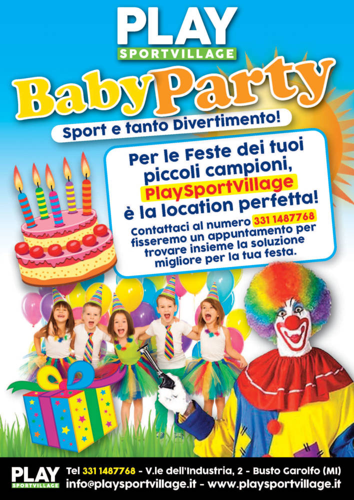 BABY PARTY – PLAY SPORT VILLAGE